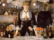 Edouard Manet A Ba4 at the Folies-Bergere oil painting reproduction