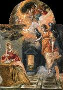 El Greco Annunciation oil painting reproduction