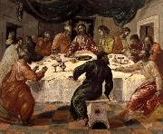 El Greco The last supper oil painting reproduction