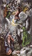 El Greco The Annuciation oil painting reproduction