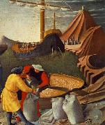 Fra Angelico St Nicholas saves the ship oil painting reproduction