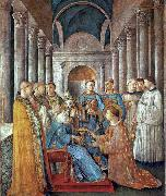 St Sixtus Ordains St Lawrence