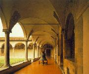 Fra Angelico View of the Convent of San Marco oil painting reproduction