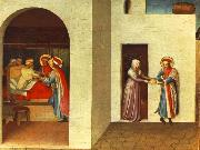 The Healing of Palladia by Saint Cosmas and Saint Damian