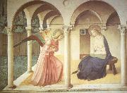 Fra Angelico The Annuciation oil painting reproduction
