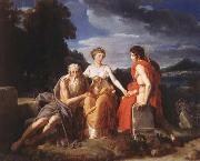 Francesco Simonini The Three ages of Man oil painting artist