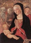 Francesco di Giorgio Martini Madonna and Child with Saints and Angels oil painting artist