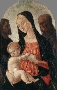 Madonna and Child with two Saints