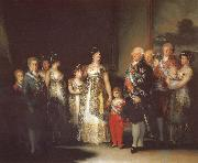 Charles IV with his family