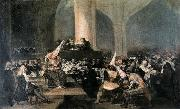 Francisco Jose de Goya The Inquisition Tribunal oil painting reproduction