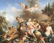 Francois Boucher The Rape of Europa oil painting reproduction