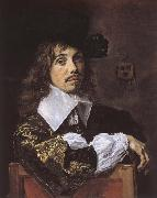Frans Hals Portratt of Willem Coymans oil painting reproduction