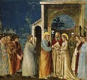 GIOTTO di Bondone Marriage of the Virgin oil painting reproduction