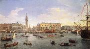 Gaspar Van Wittel The Molo Seen from the Bacino di San Marco 1697
