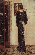 George Hendrik Breitner The Earring oil painting