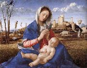 Giovanni Bellini Madonna pa indicated oil painting reproduction