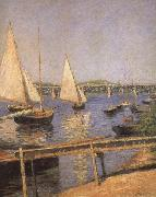 Sailing Boats at Argenteuil