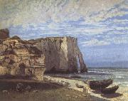 Gustave Courbet The Cliff at Etretat after the Storm oil painting reproduction