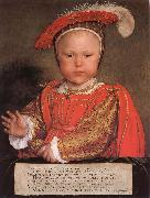 Edward VI as a child