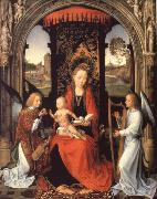 Madonna nad Child with Angels
