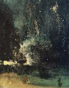 Nocturne in Black and Gold,the Falling Rocket