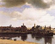 View over Delft