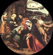 Juan Vicente Masip The Visitation oil painting reproduction