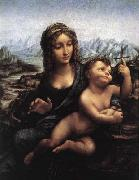 LEONARDO da Vinci Madonna with the Yarnwinder after 1510
