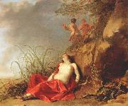 LISSE, Dirck van der Sleeping Nymph after 1642