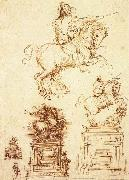 Study for the Trivulzio Equestrian Monument