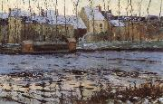 Winter at Moret