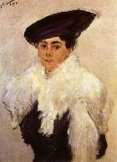 Portrait of Mrs