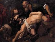 ORRENTE, Pedro The Sacrifice of Isaac oil painting reproduction