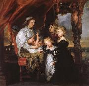 Deborah Kip Sir Balthasar Gerbiers wife, and her children