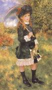 Young Girl with a Parasol