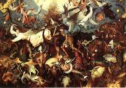 Pieter Bruegel The Fall of the Rebel Angels oil painting reproduction