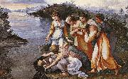RAFFAELLO Sanzio Moses Saved from the Water oil painting reproduction