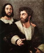RAFFAELLO Sanzio Double Portrait oil painting reproduction