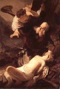 Rembrandt van rijn The Sacrifice of Isaac oil painting reproduction