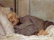 Giuseppe Mazzini on his Death Bed