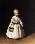 Helena van der Schalcke as a Child