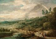 UDEN, Lucas van An Extensive Landscape oil painting