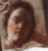 VELAZQUEZ, Diego Rodriguez de Silva y Detail of Venus oil painting reproduction