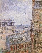 Paris seen from Vincent-s Room In the Rue Lepic