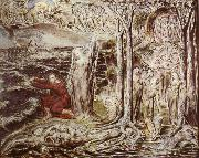 William Blake The Circle of the Life of Man oil painting reproduction