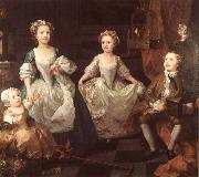 William Hogarth The Graham Children oil painting artist