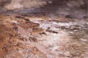 William Mctaggart The Storm oil painting reproduction