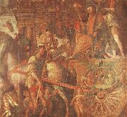 Caesar-s Chariot From the triumph of caesar Mantegna