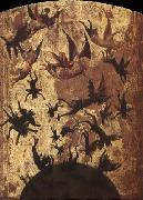 unknow artist Detail of the Fall of the Rebel Angels oil painting reproduction