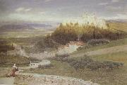Albert Goodwin,RWS Certosa,near Florence (mk46) oil painting picture wholesale